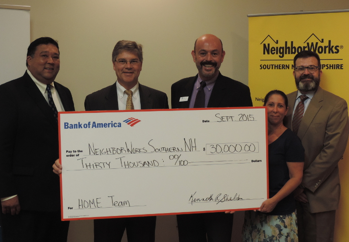 Bank of America Charitable Foundation makes contribution in support of HOMEteam education and resources