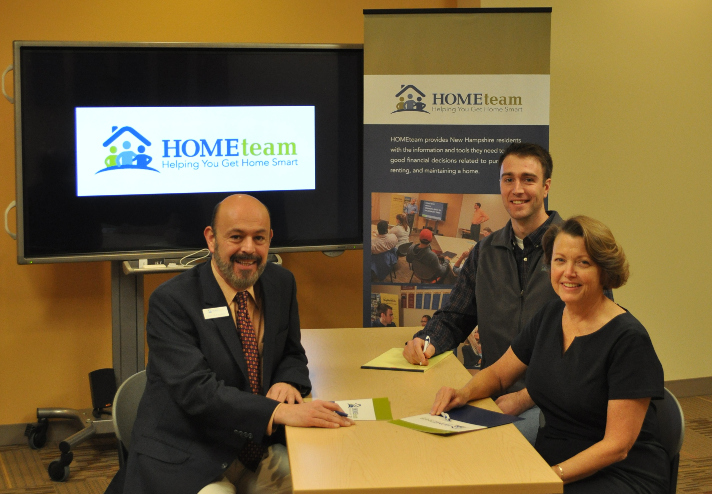 Bank of New Hampshire continues partnership with HOMEteam