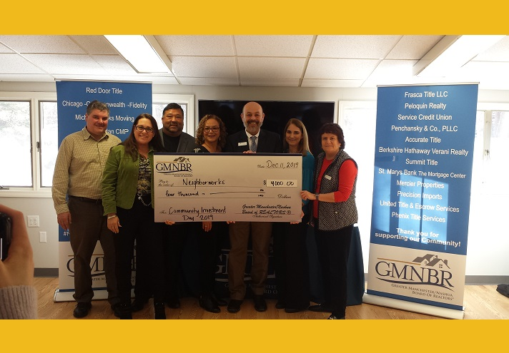 Greater Manchester/Nashua Board of REALTORS® Supports HOMEteam!