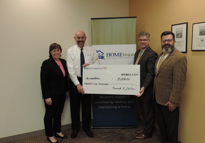 Bank of America renews support for HOMEteam!